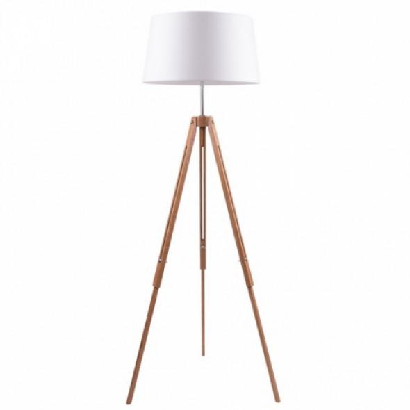 Tripod lampa podłogowa 1-punktowa dąb/mix kolorów abażurów 6021070