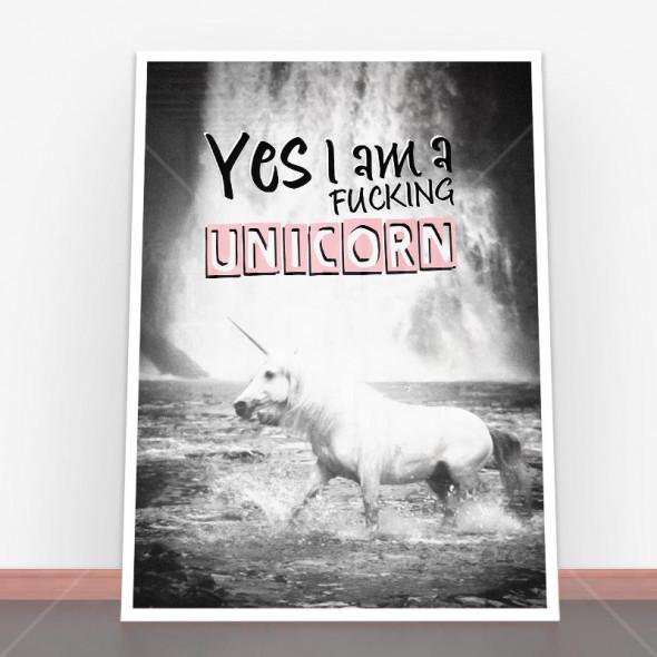 Plakat I Am Unicorn