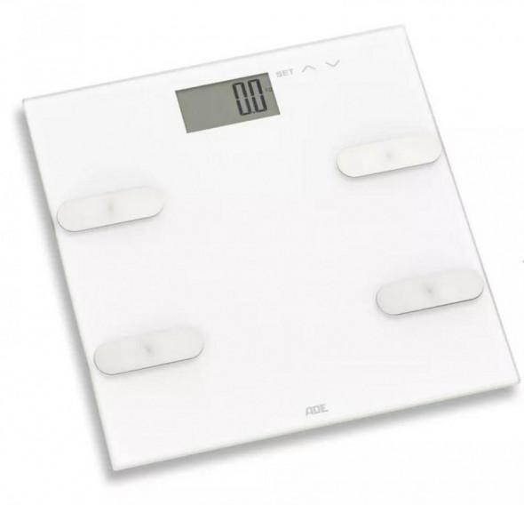 Ade Marleen - waga łazienkowa z analizą masy ciała biała