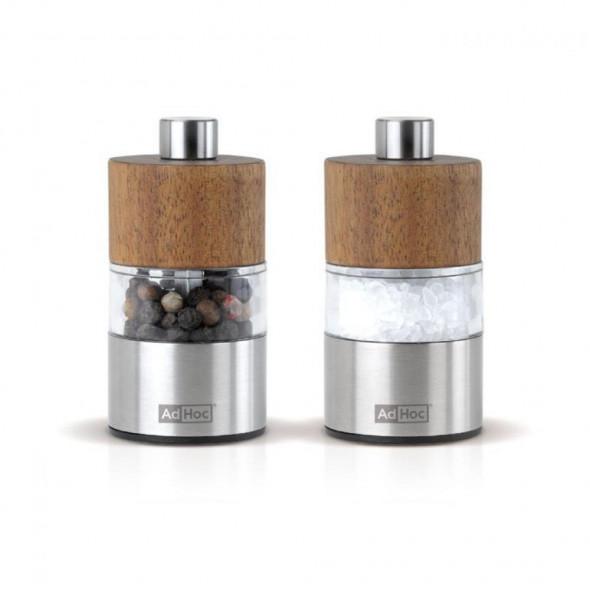 AdHoc zestaw młynków mini DAVID 6,2cm. A-MP33 --SZYBKA  WYSYŁKA