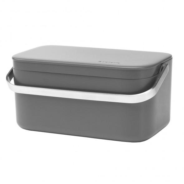 Brabantia kompostownik pojemnik na odpadki kuchenne grafitowy 11 75 41