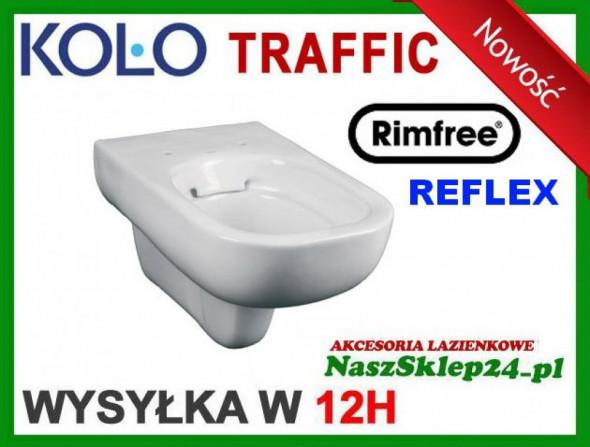 KOŁO MISKA TRAFFIC RIMFREE REFLEX   L93120900 Dostępne  OD RĘKI