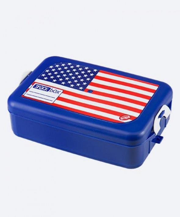 Pojemnik na kanapki flaga USA 1,33l Snips 000283