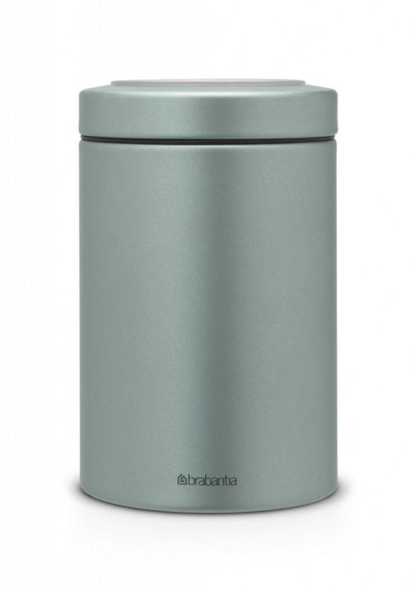 Pojemnik na żywność z okienkiem w pokrywce 1.4l. miętowy Brabantia 484346