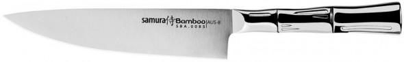 "Samura Bamboo nóż szefa kuchni 8"" stopień twardości HRC59 SBA-0085"