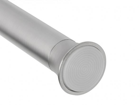 Umbra Karnisz rozporowy Chroma srebrny mat 137x228