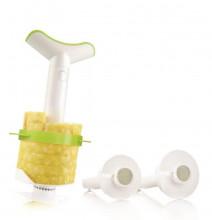 Vacu Vin Wykrawacz, nóż, 3-elementowy krajacz do ananasa  4870260