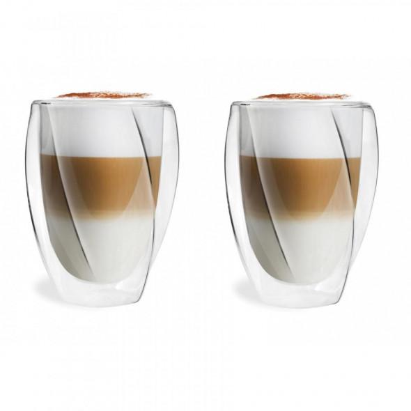 Vialli Design 2 szklanki izolowane podwójne ścianki Cristallo  300 ml. _