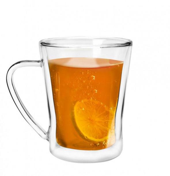 Vialli Design szklanka izolowana podwójne ścianki Amo 250 ml. 5901638720979 __Dostępne__ W-WA__