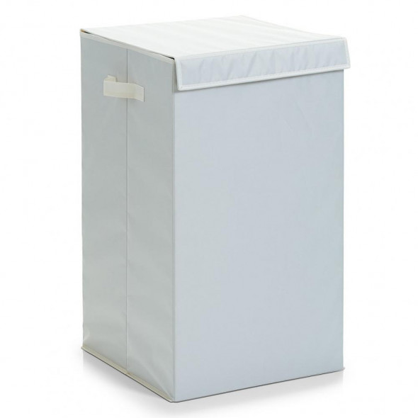 Zeller Składany kosz na pranie  torba  pudełko beżowy 13263