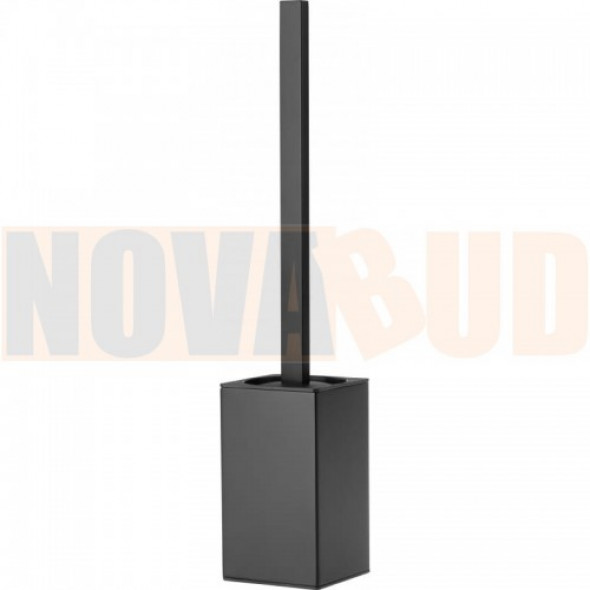 Deante Mokko Nero Szczotka WC z pojemnikiem czarny ADM N712