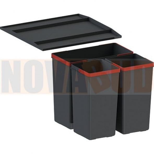 FRANKE EasySort 450-1-2 sortownik odpadów z półką 121.0494.150