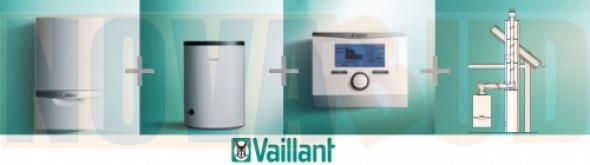 Vaillant Pakiet ecoTEC VC plus146/5-5+VIH R 150B+multiMATIC 700+zestaw do szachtu 0010018046