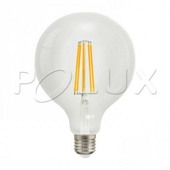 Żarówka dekoracyjna LED 360° G125 E27 1250lm, 8W, 3000K Filament