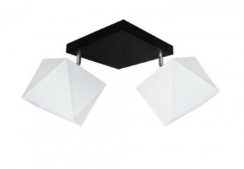Plafon diament 2 płomienny + denka