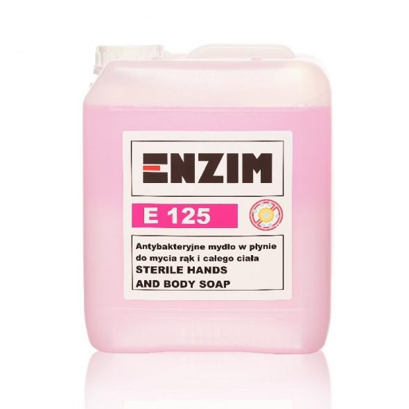 ENZIM E125 Antybakteryjne mydło w płynie 5l