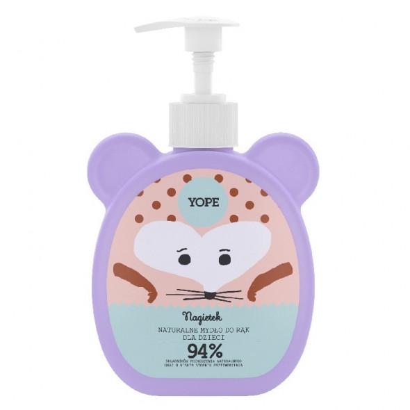 YOPE Naturalne Mydło dla dzieci w płynie Nagietek 400 ml