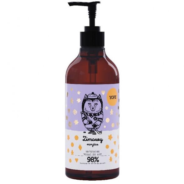 YOPE Naturalne mydło w płynie ZIMOWY RARYTAS 500ml