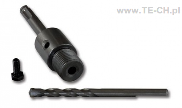 Adapte SDS-PLUS 110mm + otwornica 80mm STALCO