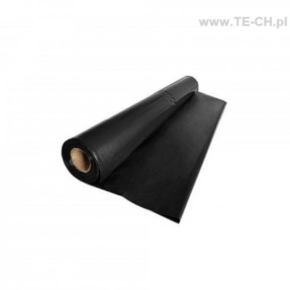 Folia budowlana ochronna czarna 0,2mm 3x17m