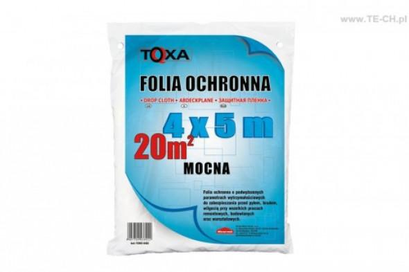 Folia malarska mocna TOXA 4x5m