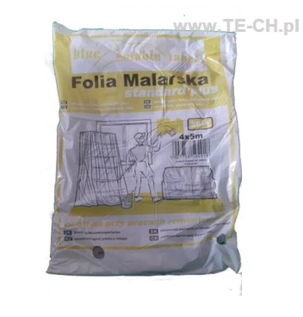 Folia malarska Standard Plus BLUE DOLPHIN 4x5m