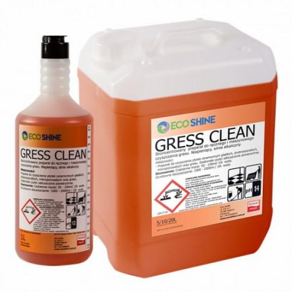 GRESS CLEAN bieżące mycie gresu środek zasadowy