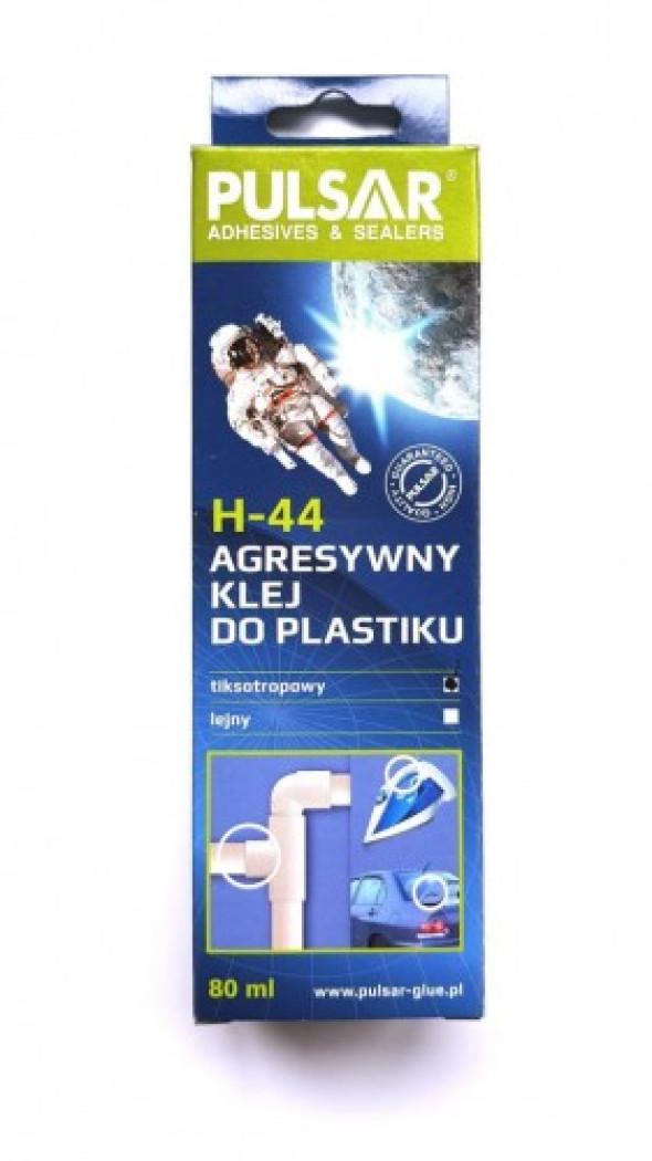 PULSAR H-44 AGRESYWNY KLEJ W ŻELU DO PLASTIKU 80 M