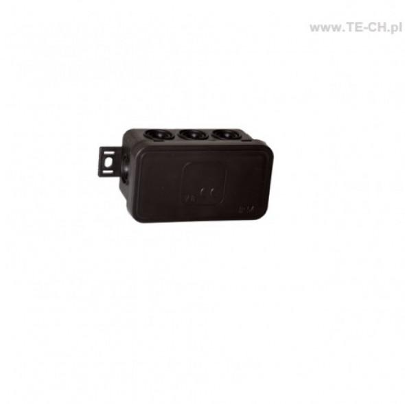 Puszka natynkowa hermetyczna 80x45x41mm 038-05