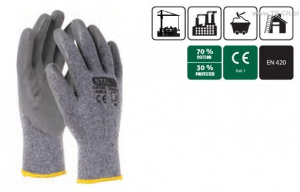 Rękawice baweł-polies S-Ecodrag rozmiar10 para