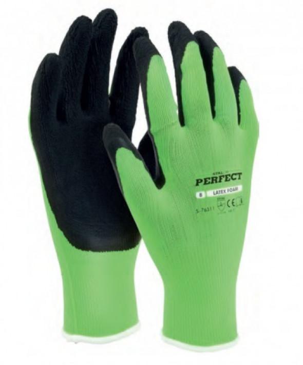 Rękawice poliestrowe piankowe S-Latex Foam
