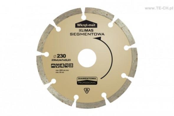 Tarcza diamentowa segmentowa PRO TDS-125P