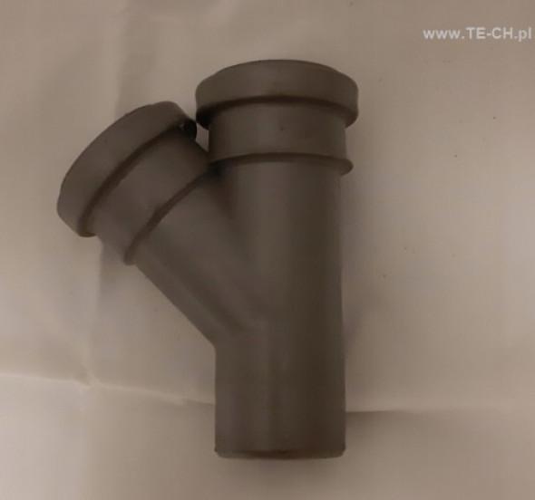 Trójnik kanalizacyjny 50x50x45 PP