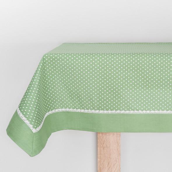 Bieżnik RAMONA - 60x120 cm - zielony