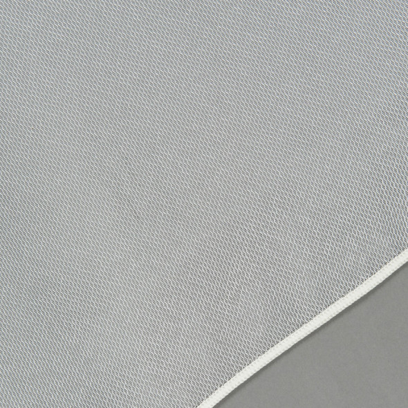 Firana z ołowianką PALOMA-001 - wysokość 300 cm - biała