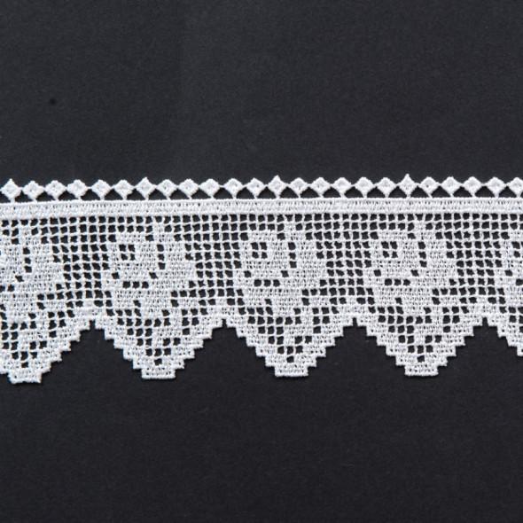 Gipiura 072702 - wysokość 8 cm - biały