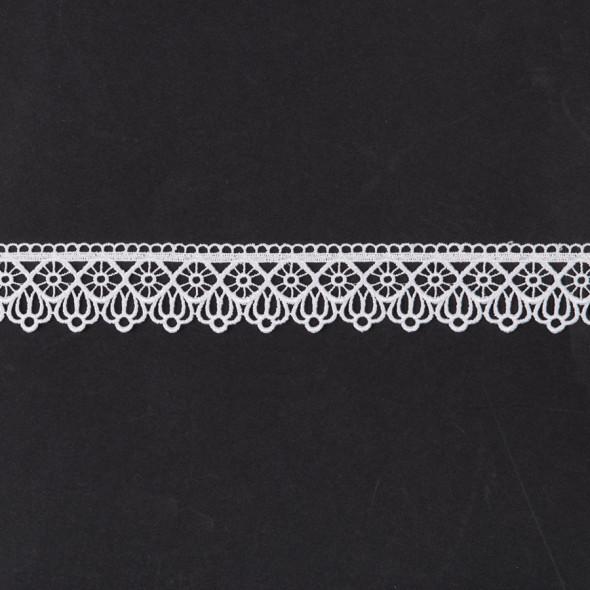 Gipiura 072935 - wysokość 5 cm - biały