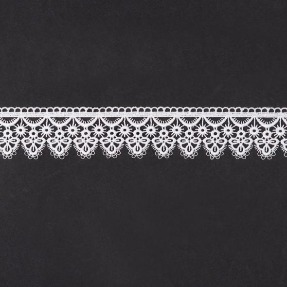 Gipiura 072954 - wysokość 5,5 cm - biały