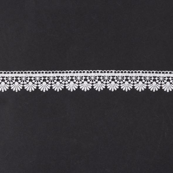 Gipiura 072967 - wysokość 4 cm - biały