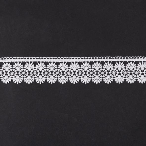 Gipiura 072967 - wysokość 6 cm - biały