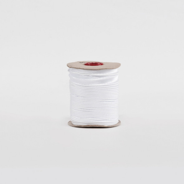 Lamówka 002 - 1,5 cm - biały