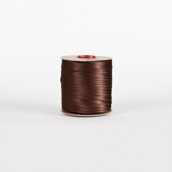 Lamówka 093 - 1,5 cm - czekoladowy brąz