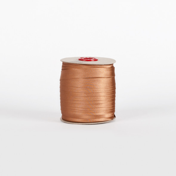 Lamówka 098 - 1,5 cm -  orzechowy brąz