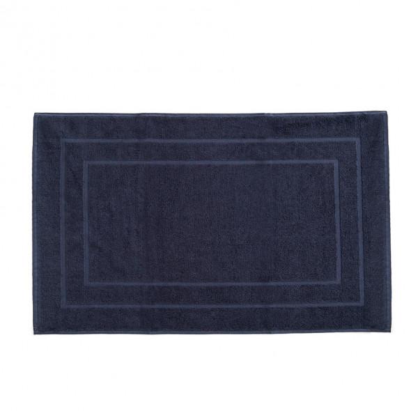 Mata łazienkowa - 50x80 cm - ciemnogranatowa
