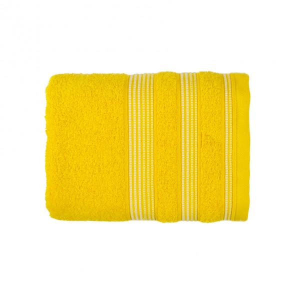 Ręcznik MERIDA - 50x90 cm - żółty