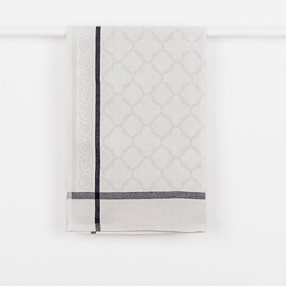 Ścierka kuchenna MAROCO - 50x70 cm - szara