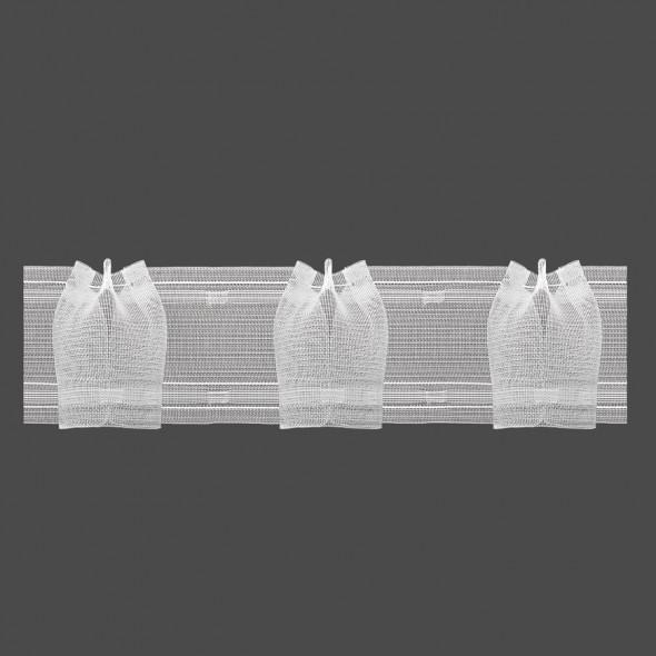 Taśma marszcząca dekoracyjna M/T11 - 1:2,5 - 7,5 cm