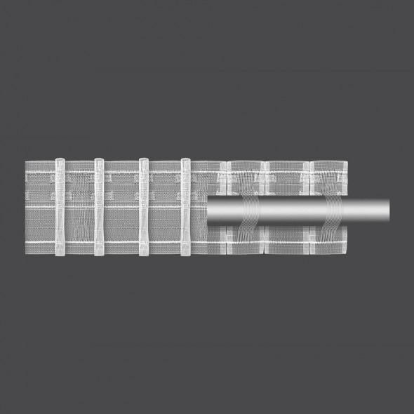 Taśma marszcząca ołówkowa z szelką M/T22/P - 1:2 - 7,5 cm