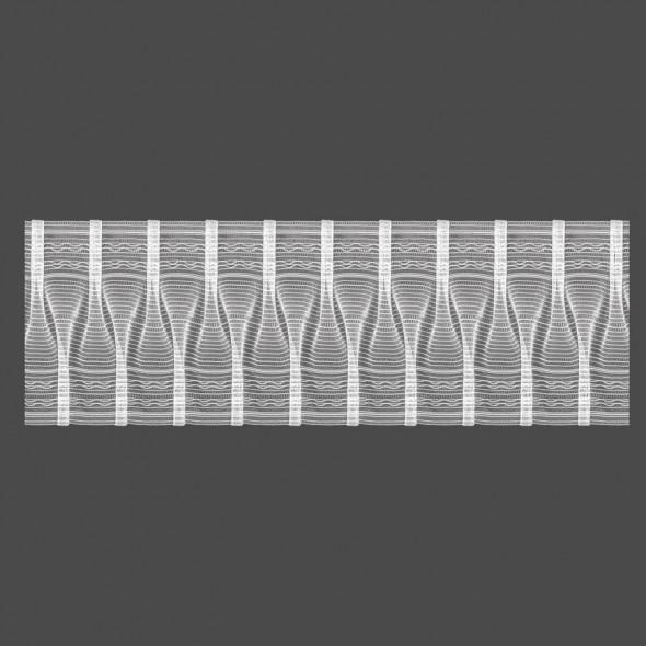 Taśma marszcząca smokowa M/T30 - 1:2,5 - 15 cm