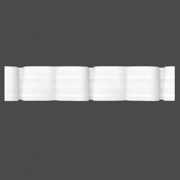 Taśma marszcząca z podwójną zakładką M/U2K - 1:3 - 5 cm